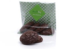 Double chocolate chip cookie bag
