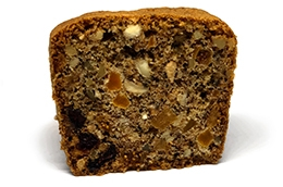 dried fruits & nuts loaf slice