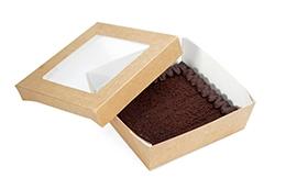 chocolate gluten free cake (craft box)