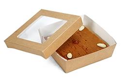 Honey almond gluten free cake (craft box)